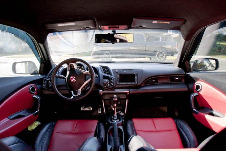 cr-z interior
