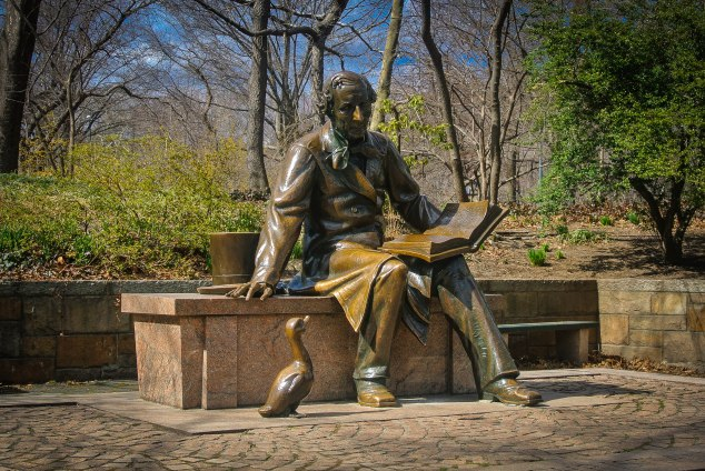 Hans Christian Andersen Sculpture, Central Park, NYC