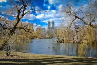 The San Remo, view from Central Park, NYC