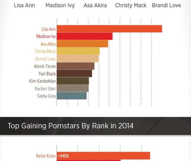 Pornhub 2014 Top Pornstars