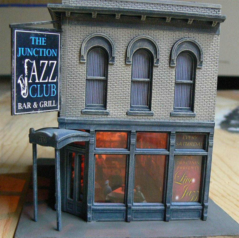 The Junction Jazz Club Bar Amp Grill Side View Model