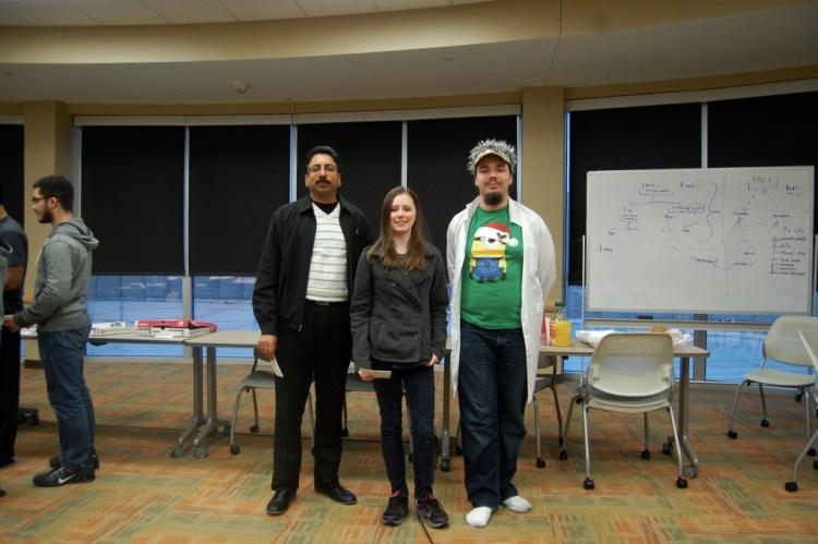 Best Game Category (Prof. Gopal Gupta congratulating Jess Wedman, Timothy Hewitt)