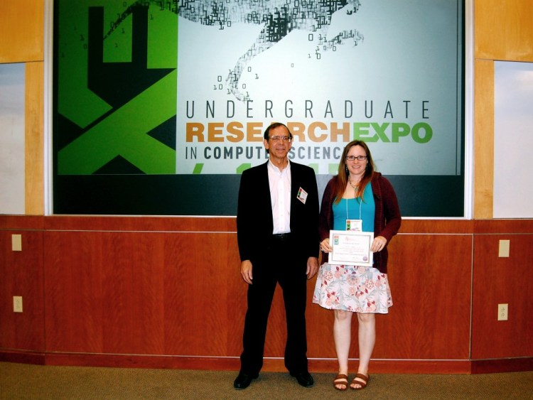 Xavia Kirk (University of Arlington) - Honorable Mention in the paper presentations.