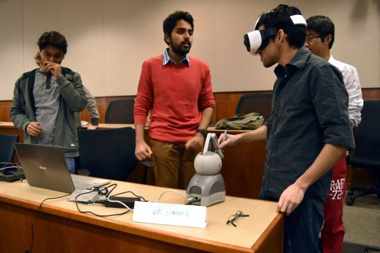 Virtual Reality Endoscopic Surgery