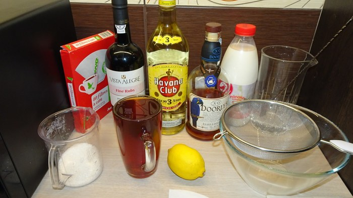 Home bar. Methods. Part 4.1- Clarified milk punch. Bar, Alcohol, Cocktail, Punch, Milk, Recipe, Long Post