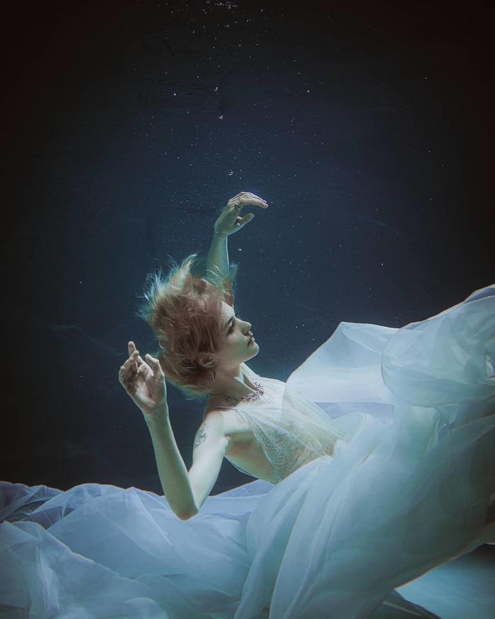 В воде Фотография, Фотосессия, Длиннопост, Подводная съемка, Девушки
