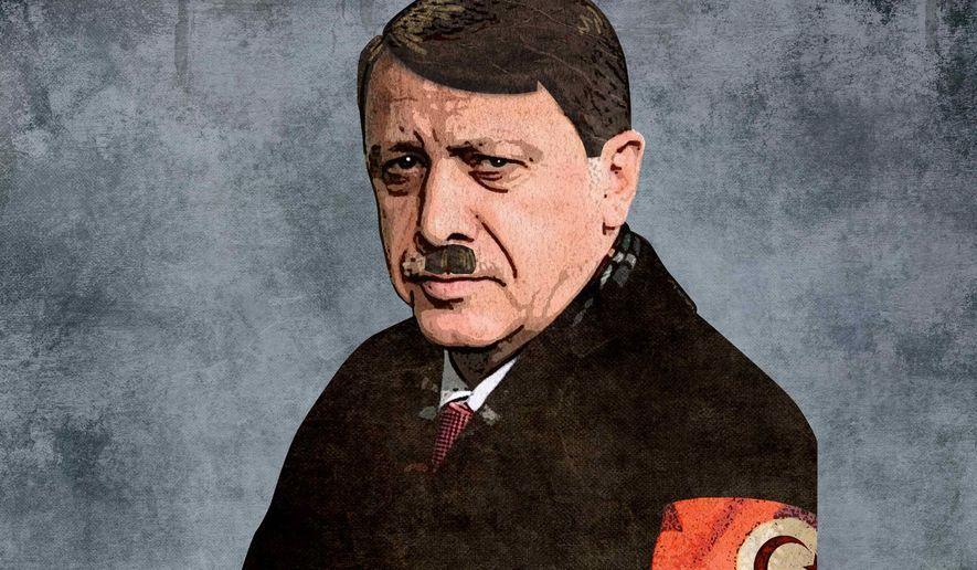 Популярное французское издание сравнило Эрдогана с Гитлером   Пикабу