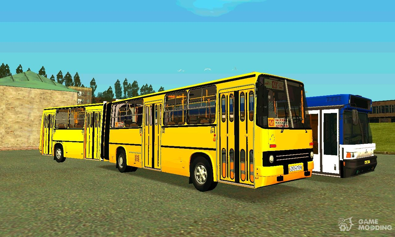 Buses With Accordion For GTA San Andreas