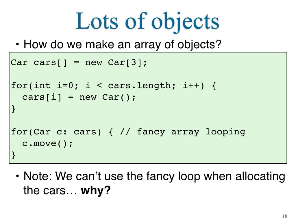 Java Module 2 Object Oriented Programming