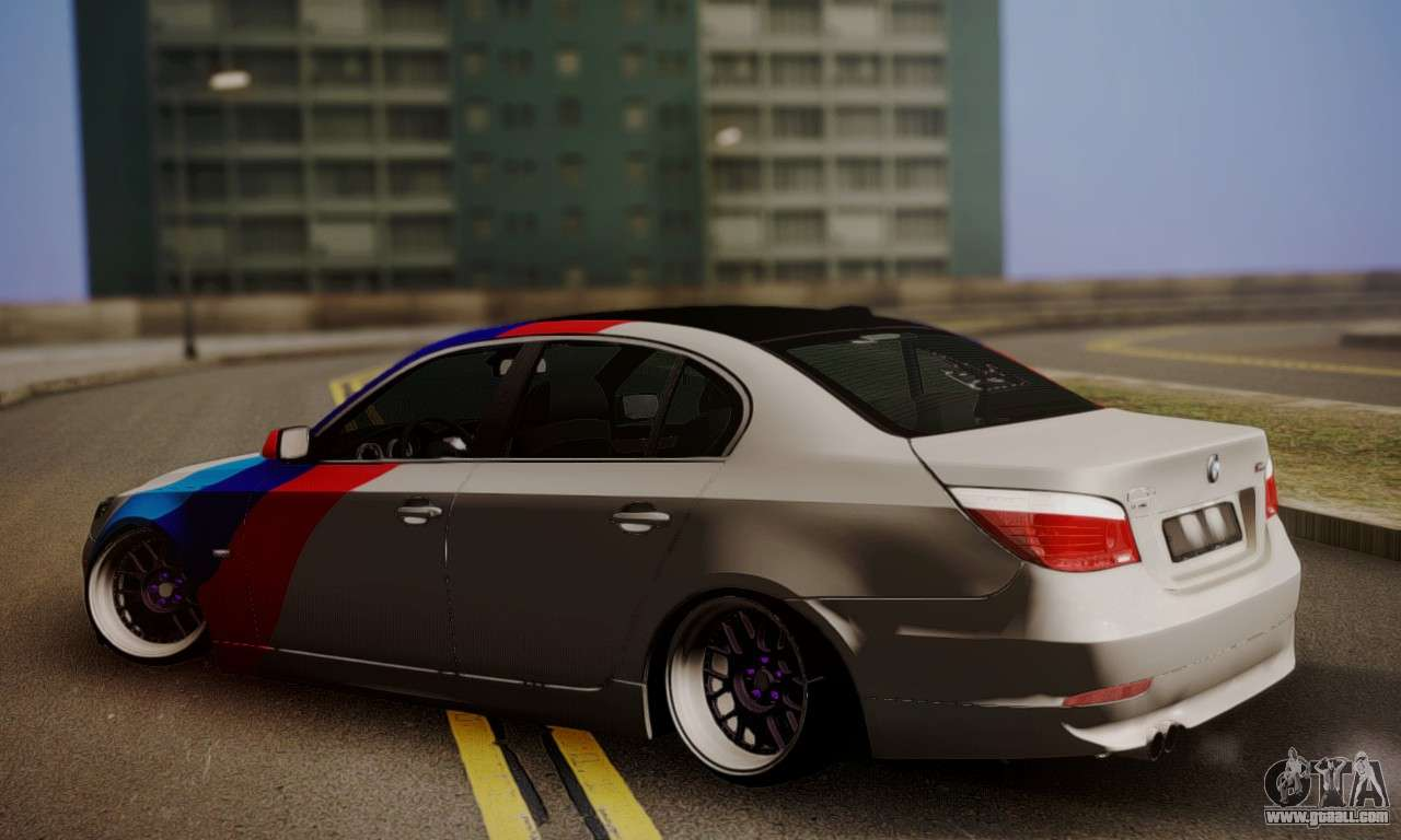 BMW M5 E60 Stance Works For GTA San Andreas