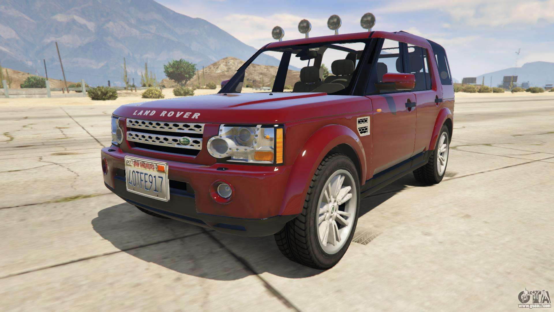 Land Rover Discovery 4 for GTA 5