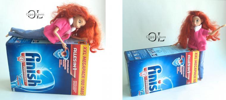 Делаем красивый дом и мебель для кукол Барби, фото № 38