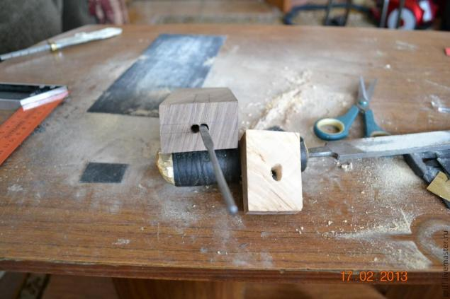 Como fazer uma alça de faca, foto № 7