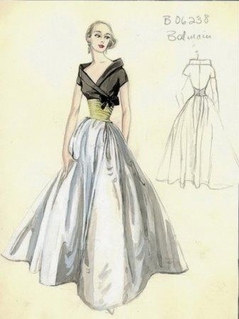 дизайн одежды рисунки карандашом 2