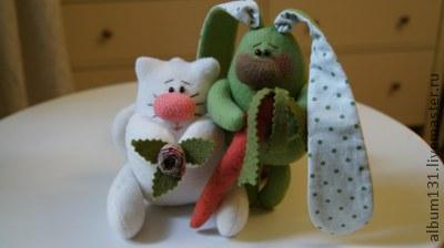 Machen Sie lustige Spielsachen aus Fleece, FOTE № 1