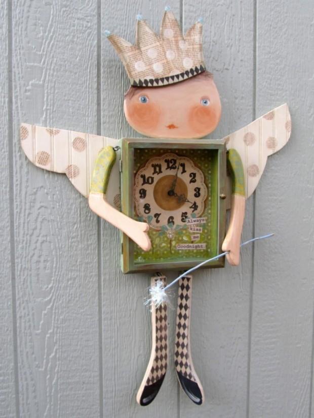 Siirrytään eteenpäin! Tai täsmälleen 50 DIY-kelloideota! osa 1, valokuva numero 34