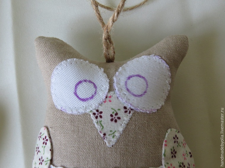 We sew a naughty owl on the twig, photo number 35