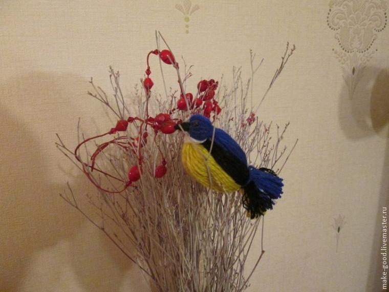 Dominio con hijos de pájaros fragantes del hilo para el interior, foto № 15