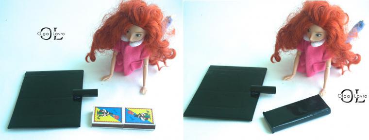 Делаем красивый дом и мебель для кукол Барби, фото № 36