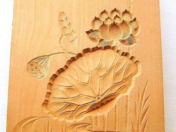 Кашигата - японская доски для приготовления сладостей