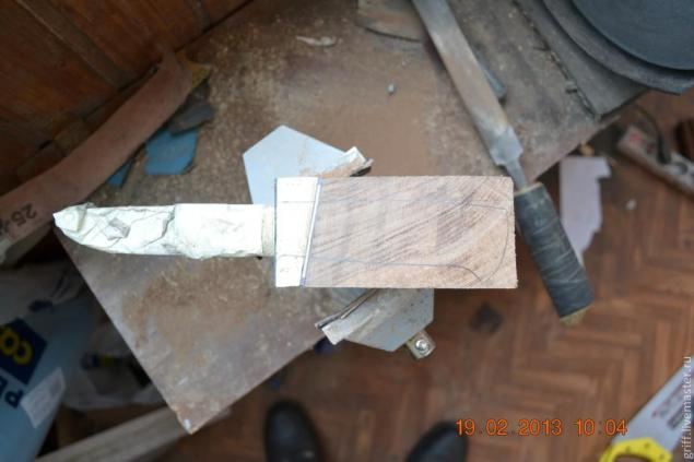 Como fazer uma alça de faca, foto № 13