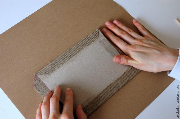 دستورالعمل های دقیق برای ساخت یک دفتر خاطرات ساده برای نوشتن ایده ها، عکس № 16