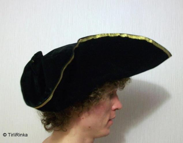 Как сшить шляпу-треуголку, фото № 9