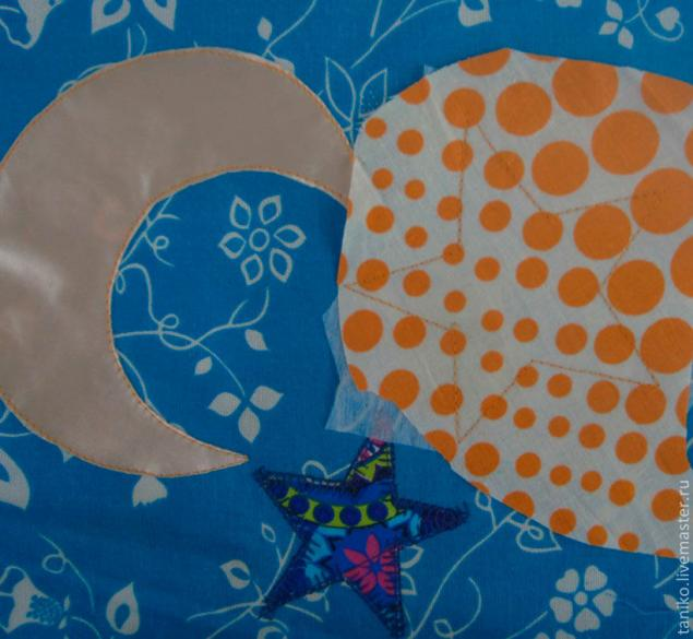 我们用自己的手缝了一个开发的地毯,照片№2