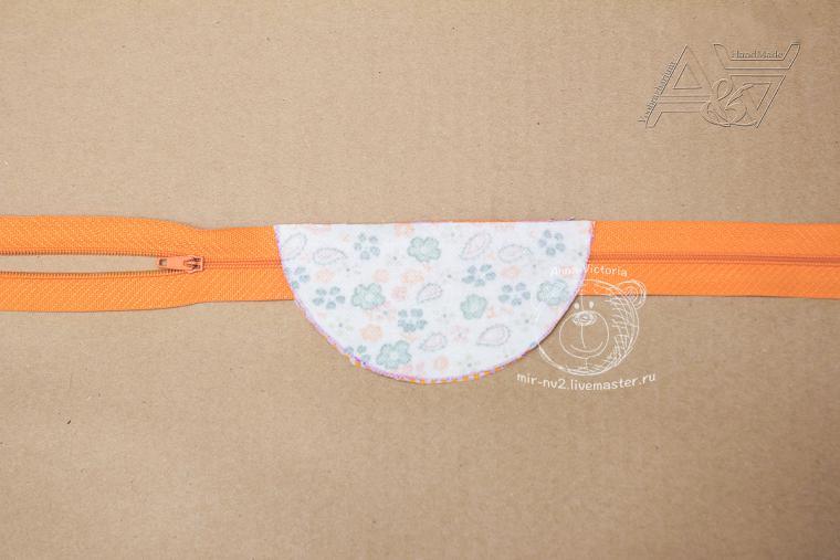 Шьем милый чехол для наушников и иных мелочей, фото № 6