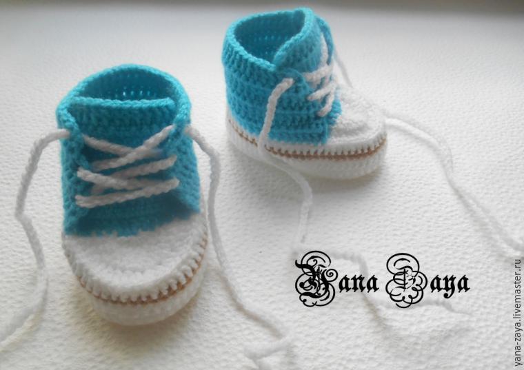Knit tığ işi patik-spor ayakkabı, fotoğraf № 23