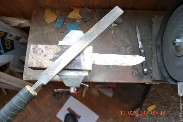 Como fazer uma alça de faca, foto № 12