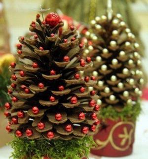 Жаңа жылдық ойыншықтар балалармен бірге жасайды, сурет № 28