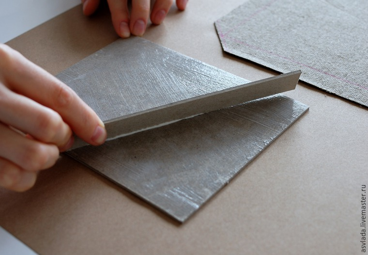 دستورالعمل های دقیق برای ساخت یک دفتر خاطرات ساده برای نوشتن ایده ها، عکس № 9