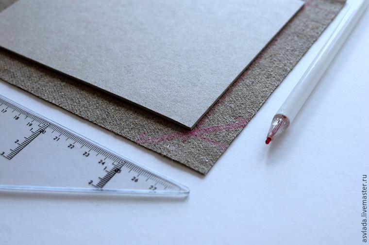 دستورالعمل های دقیق برای ساخت یک دفتر خاطرات ساده برای نوشتن ایده ها، عکس № 6