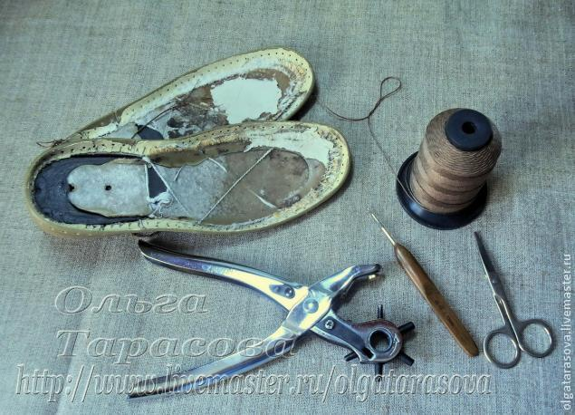 мк вязаная обувь