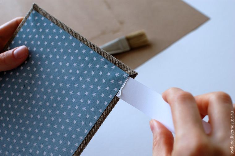 دستورالعمل های دقیق برای ساخت یک دفتر خاطرات ساده برای نوشتن ایده ها، عکس № 19