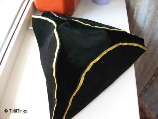Как сшить шляпу-треуголку, фото № 1