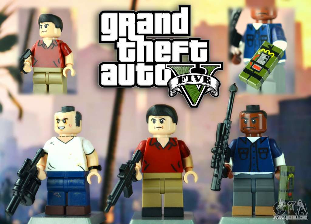 Everything Related To Lego GTA 5 And Even A Little Bit More