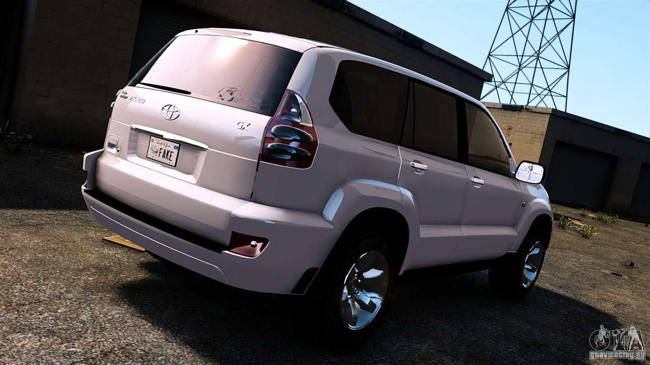 Toyota Land Cruiser Prado For GTA 4