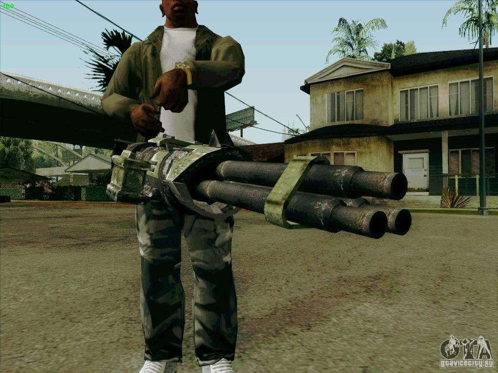 Minigun From Duke Nukem Forever For GTA San Andreas