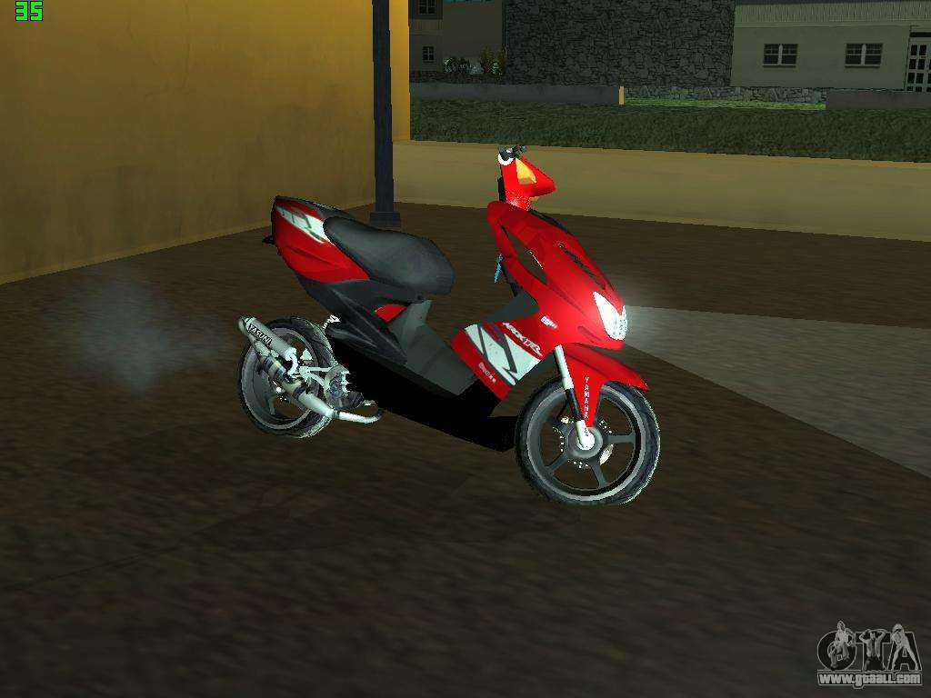 Yamaha Aerox R For Gta San Andreas