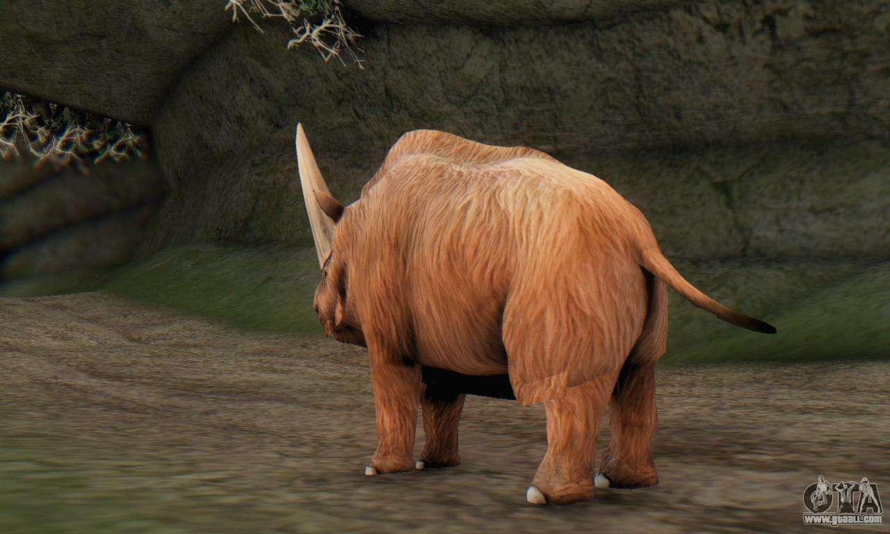 Elasmotherium Extinct Mammal For Gta San Andreas