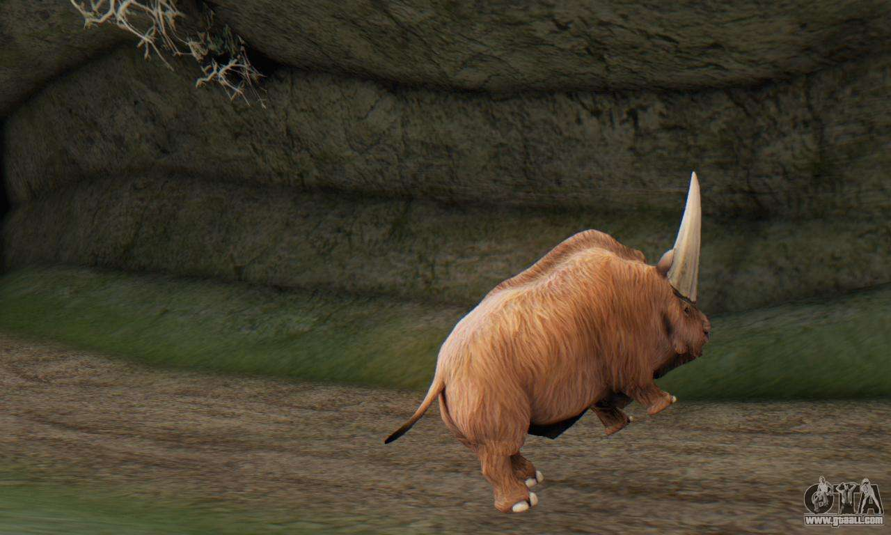Elasmotherium Extinct Mammal For Gta San Andreas