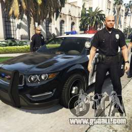 Police Mod 1.0b for GTA 5