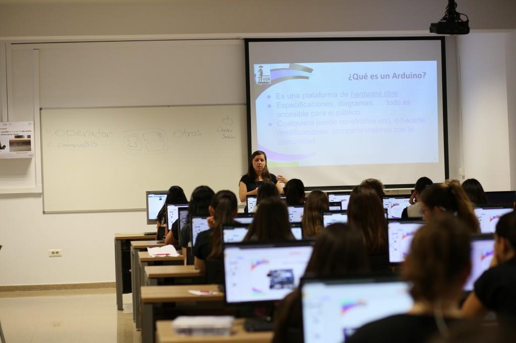 campus tecnológico para chicas UGR 2016