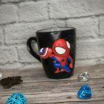 Mug Out Of Polymer Clay Spider Man Kupit Na Yarmarke Masterov Lk7y4com Kruzhki I Chashki Moscow