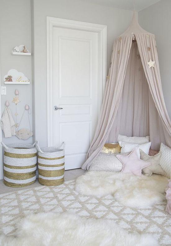 Enkla idéer för baldakiner i sovrummet och inte bara, foto nummer 19
