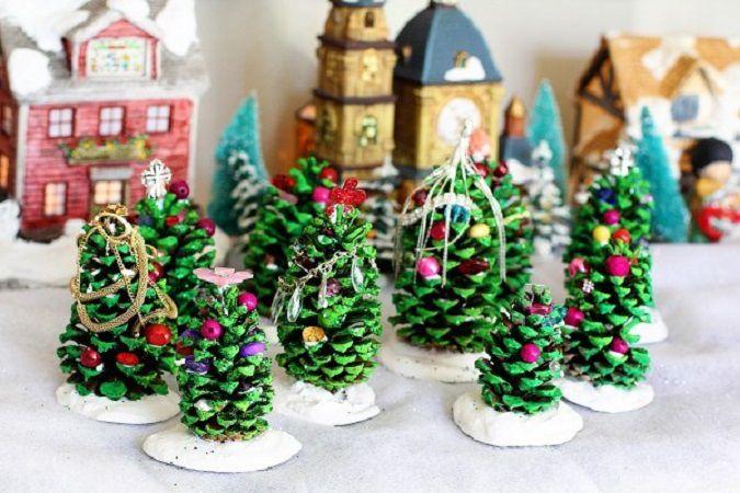 Создаём новогоднее настроение: 50 идей для праздничного декора, фото № 29