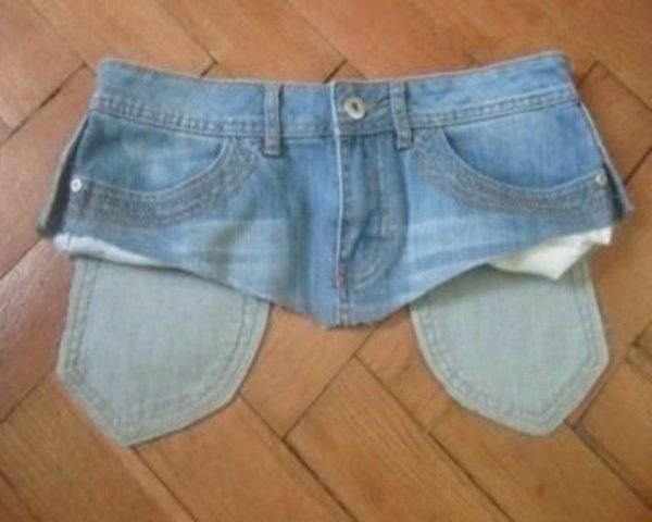 Превращения вещей идеи для переделки одежды. Часть 1, фото № 36