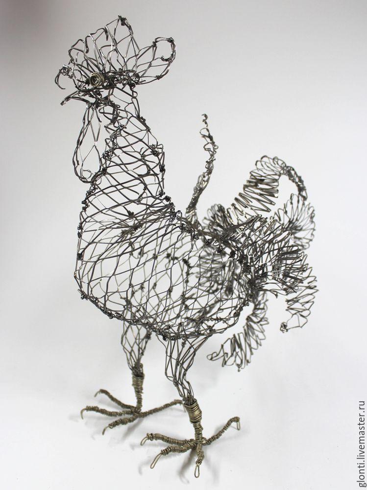 """ایجاد نماد 2017 یک خروجی از سیم مش در تکنیک """"HOKN IRE""""، عکس № 18"""